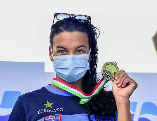 Arianna Bridi, la nuotatrice dei record