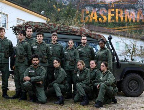 Docu-reality 'La Caserma' in onda da Levico Terme