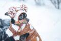 Se il cucciolo arriva d'inverno