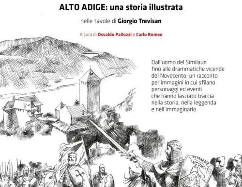 La terra fra i monti. Alto Adige: una storia illustrata da Giorgio Trevisan
