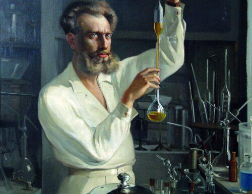 Il ritratto di un chimico in quell'albergo abbandonato