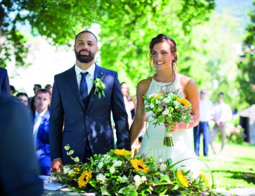 Stefania e Mark: Castel Ivano, 31 luglio 2020