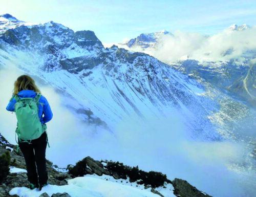 Francesca Giovannini, passione per l'alpinismo