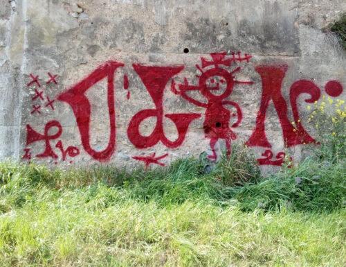 Le scritte dei pastori della val di Fiemme ispirano un writer in Spagna