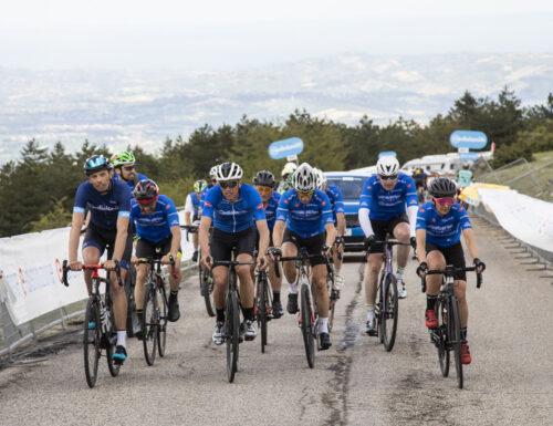Banca Mediolanum pedala con Moser, Fondriest e Ballan