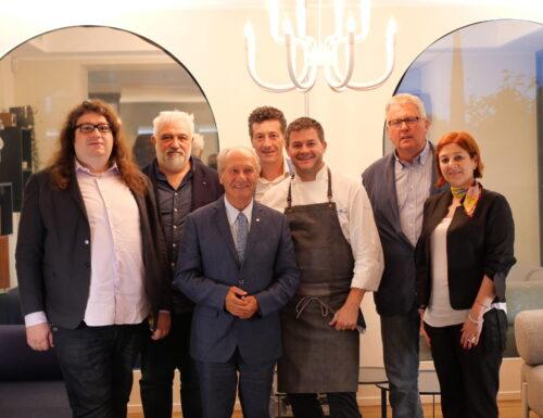 La famiglia Togn e i vini Gaierhof ospiti di Peter Brunel
