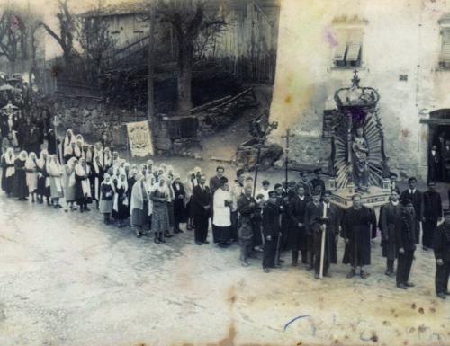 La Madonna di Vigo in processione